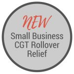 New Small Busines CGT Rollover Relief